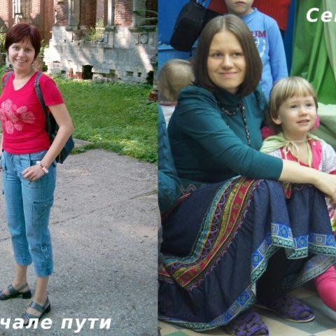 История изменений Юлии Айнетдиновой