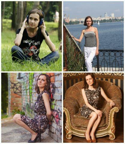 История Оксаны Бойниченко из Киева о своих превращениях