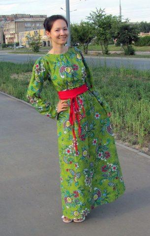 История Марины Потаповой из Смоленска о пользе ношения юбок