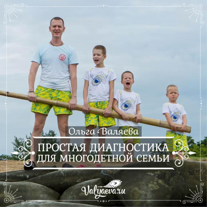 Ольга Валяева - Простая диагностика для многодетной семьи