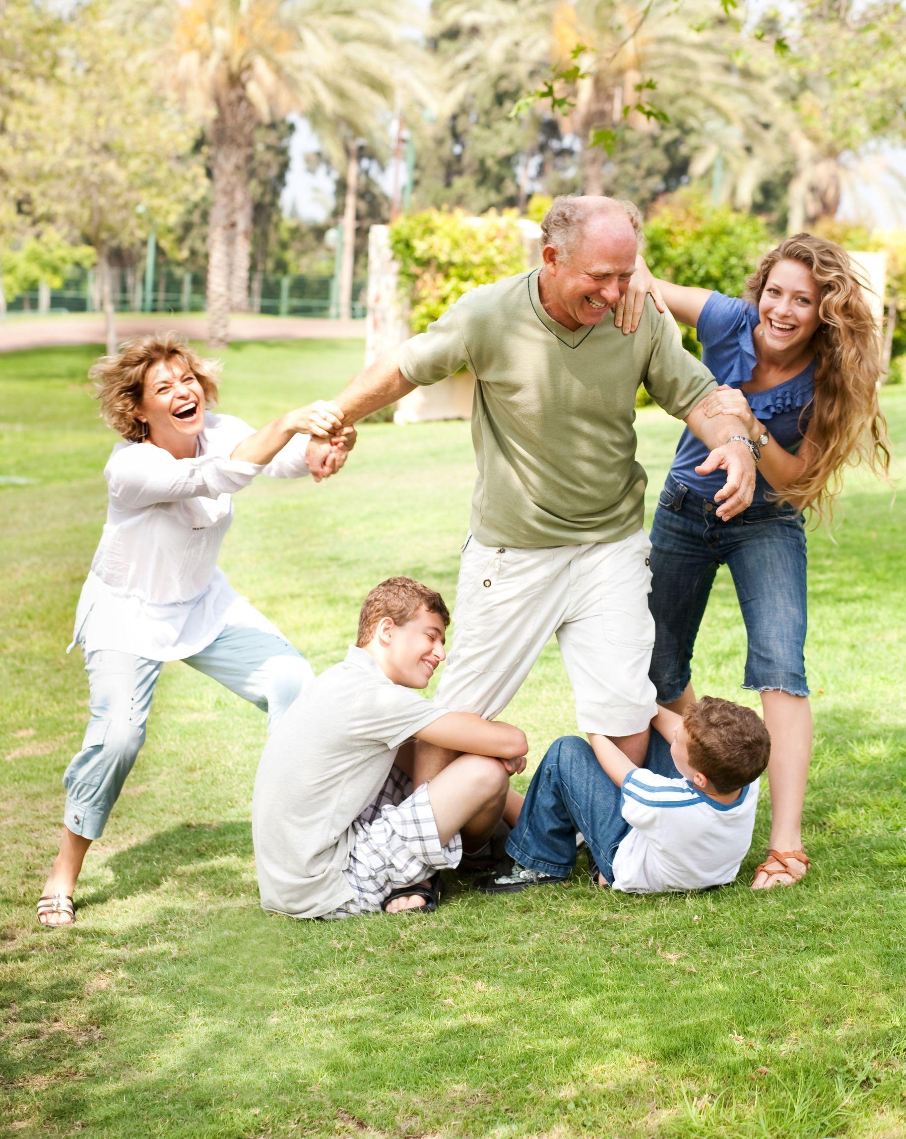 Комментарии к семейным фото с детьми